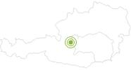 Radtour Sattelbergrunde in Schladming-Dachstein: Position auf der Karte