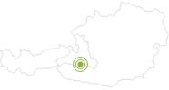 Radtour Von Gastein zur Mittelstation Graukogel im Gasteinertal: Position auf der Karte