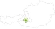 Radtour Bad Hofgastein - Hartlgut - Angertal - Bad Hofgastein im Gasteinertal: Position auf der Karte