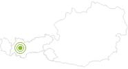 Radtour Rundtour vorderes Pitztal im Pitztal: Position auf der Karte