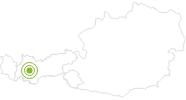 Radtour Jerzner Tanzalmweg im Pitztal: Position auf der Karte