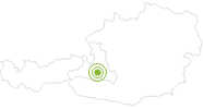 Radtour Über die Mooslehenalm zur Viehhausalm und zur Igltalalm im Grossarltal: Position auf der Karte
