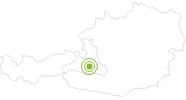 Radtour Tour zur Aualm im Grossarltal: Position auf der Karte
