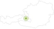 Radtour Hallmoos Runde in der Salzburger Sportwelt: Position auf der Karte