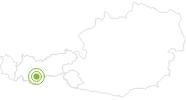 Radtour Hochsölden Panorama Trail Ötztal: Position auf der Karte