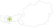 Radtour Hochoetz Panoramatour Ötztal: Position auf der Karte