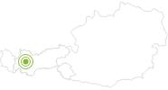 Radtour Imsterberger Venetalm (604) in der Ferienregion Imst: Position auf der Karte