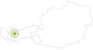 Radtour Inntalrunde Imst in der Ferienregion Imst: Position auf der Karte