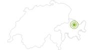 Radtour Mountainbiketour Bahnentour Davos Klosters in Davos Klosters: Position auf der Karte