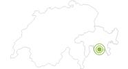 Radtour Innradweg - von Maloja nach Passau in Engadin St. Moritz: Position auf der Karte