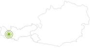 Radtour Hahntennjochrunde in St.Anton am Arlberg: Position auf der Karte