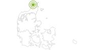 Radtour Panorama Radroute: Hirtshals – Mygdal – Tornby in Nordjütland: Position auf der Karte