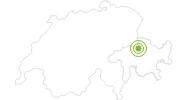 Radtour Mountainbiketour Churer Joch Rundtour in Chur: Position auf der Karte