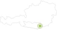 Radtour Granitztaler Panoramarundtour im Lavanttal: Position auf der Karte