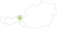 Radtour Glantersbergrunde in der Ferienregion Hohe Salve: Position auf der Karte