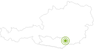Radtour Via Carinzia, Etappe 5: Wolfsberg - Reichenfels im Lavanttal: Position auf der Karte