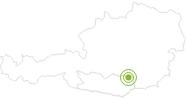 Radtour MTB 6 - Schieflinger Tour im Lavanttal: Position auf der Karte