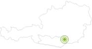 Radtour MTB 7 - Limberger Aussichtsrundtour im Lavanttal: Position auf der Karte