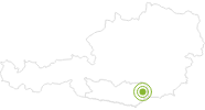 Radtour MTB 11 - Godinger Tour im Lavanttal: Position auf der Karte