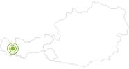 Bike Trail Tritschalpe - Roßfallalm – Darmstädterhütte in St.Anton am Arlberg: Position on map