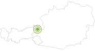 Bike Trail Pillerseetal-Kalkstein-Tour in the Pillerseetal: Position on map