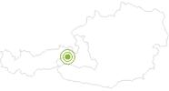 Bike Trail Tiroler Runde in Saalbach-Hinterglemm: Position on map
