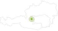 Radtour Reiteralm-Runde in Schladming-Dachstein: Position auf der Karte