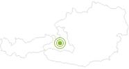Radtour Tonis Bike Trail am Hochkönig: Position auf der Karte