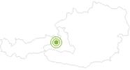 Radtour Filzensattel-Runde in Saalfelden-Leogang: Position auf der Karte