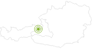 Radtour SkulpturenRadWeg in Saalfelden-Leogang: Position auf der Karte