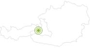 Radtour Großglockner Hochalpenstraße: Von Zell am See zum Fuscher Törl in Zell am See - Kaprun: Position auf der Karte