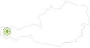 Radtour Rund um das Karhorn am Arlberg: Position auf der Karte