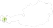 Radtour Spullersee-Runde am Arlberg: Position auf der Karte