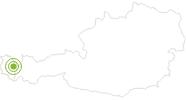 Radtour Schröcken-Tannberg-Runde am Arlberg: Position auf der Karte