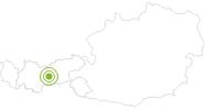 Radtour E-Biketour Telfer Wiesen und Stockerhof in Stubai: Position auf der Karte