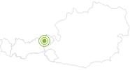 Radtour Rundfahrt um die Hohe Salve in der Ferienregion Hohe Salve: Position auf der Karte