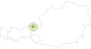Radtour Feldalm - Zahmer Kaiser im Kaiserwinkl: Position auf der Karte