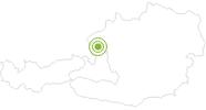 Radtour Wallersee Rad-Rundweg im Salzburger Seenland: Position auf der Karte