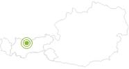 Radtour Radtour zur Hochfeldernalm und Ehrwalderalm in der Olympiaregion Seefeld: Position auf der Karte