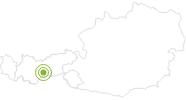 Radtour EinsEinser Trail Stubaital in Stubai: Position auf der Karte