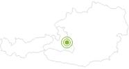 Radtour Steinwand Runde ab Radstadt in der Salzburger Sportwelt: Position auf der Karte