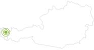 Radtour Rund um die Kanisfluh im Bregenzerwald: Position auf der Karte