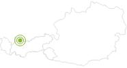 Radtour Radtour um den Thaneller in der Tiroler Zugspitz Arena: Position auf der Karte