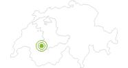 Radtour Tour de Gstaad Classique in Gstaad - Saanenland: Position auf der Karte