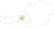 Radtour Hacklberg Trail an der Westgipfelbahn in Hinterglemm in Saalbach-Hinterglemm: Position auf der Karte