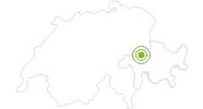Radtour Vorab – Grauberg in Flims Laax Falera: Position auf der Karte