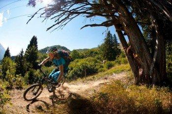 Abwechslungsreiche Trails bieten Spaß und Action in der Natur