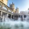 An der heißen Quelle in Bath entspannten sich schon die Römer