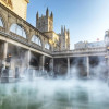 Do it like the Romans, and relax in the hot springs of Bath.