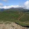 Blick auf die Bucegi Berge